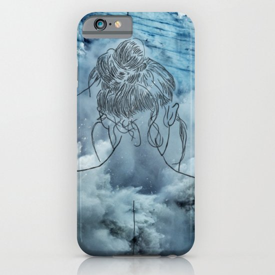 Lonely woman iPhone & iPod Case
