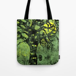 the Vision Tree (green) Tote Bag