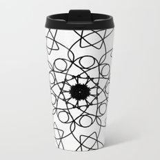 love mandala number 5 - mystery Metal Travel Mug