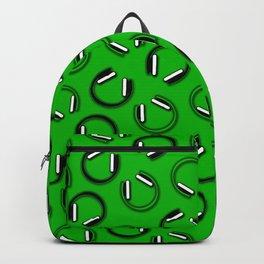Headphones-Green Backpack