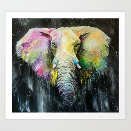 I'M THE ELEPHANT Art Print