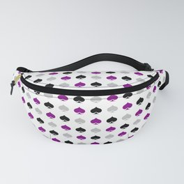 Ace Pride - Spades Fanny Pack