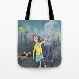 Children's Illustration Tote Bag