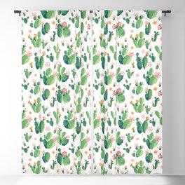 Cactus pattern II Blackout Curtain
