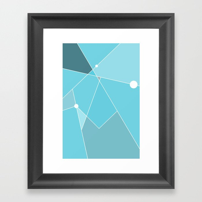 Simple Times 01 Framed Art Print