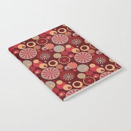 Circle Frenzy - Red Notebook