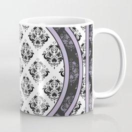 Lavender Purple Vintage Victorian Paisley Pattern Coffee Mug