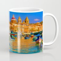 channel Mugs featuring The Channel by Tami Cudahy