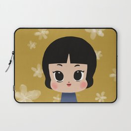 Millie, the pastel yellow Laptop Sleeve