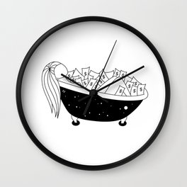 Fortune Wall Clock