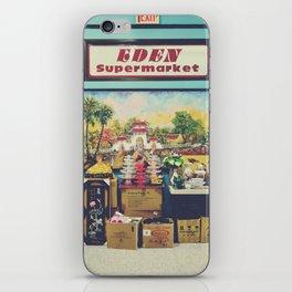 eden supermarket iPhone Skin