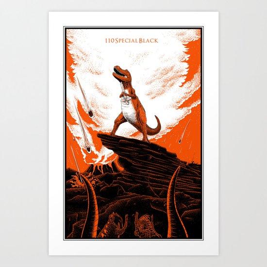 OH NOAAARR Art Print