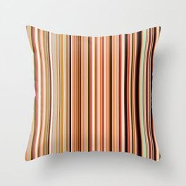 Old Skool Stripes - Morning - Extra Wide Throw Pillow