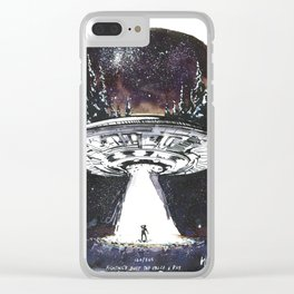 Fighting's Just The Price I pay Clear iPhone Case