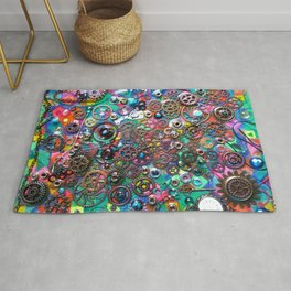 Chase the Gears Rug