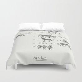 Alzebra Duvet Cover