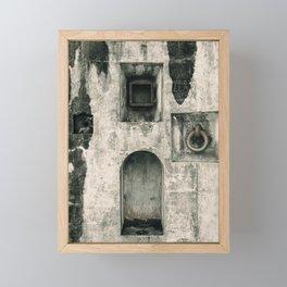 Quattro Niches, military artillery fort Framed Mini Art Print