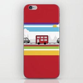 City travel iPhone Skin