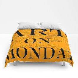 ART ON MONDAY Comforters
