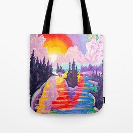80's SUNDOWN Tote Bag