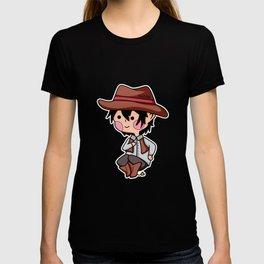 Cowboy Western Sheriff Cartoon Comic Kids gift T-shirt