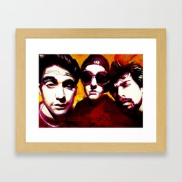 No Sleep 'Til Brookyn Framed Art Print