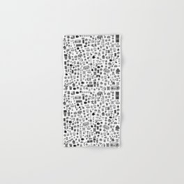 letter V - Nintendo Classics Hand & Bath Towel