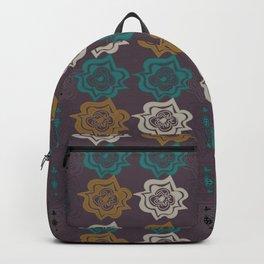 Eggplant Flowers Backpack