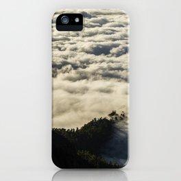 Cloud sea iPhone Case