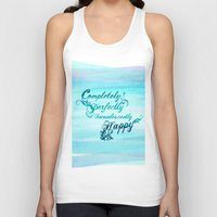 pride and prejudice Tank Tops featuring incandescently happy.. pride and prejudice by studiomarshallarts
