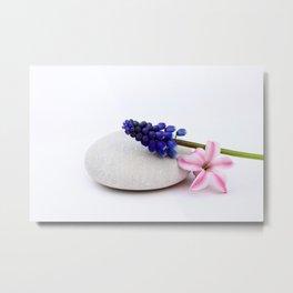 Zen * Spring - JUSTART © Metal Print