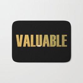 Valuable Bath Mat
