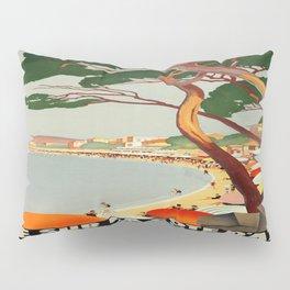 Vintage poster - Cote D'Azur, France Pillow Sham