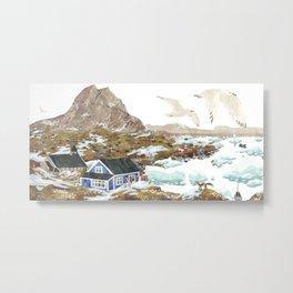 Greenland Metal Print