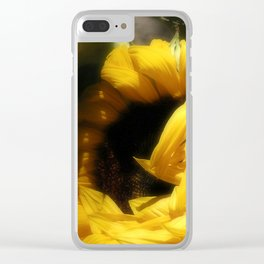 Flowers Of The Sun Clear iPhone Case