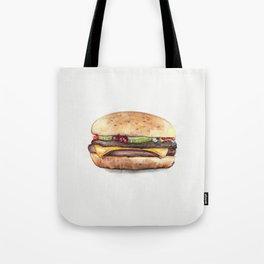 Color pencil Hamburger Tote Bag