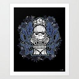 TIKKI TROOPER Art Print