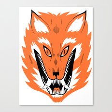 Cursed Fox Canvas Print