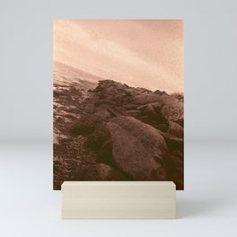 Red Salt Rocks Mini Art Print