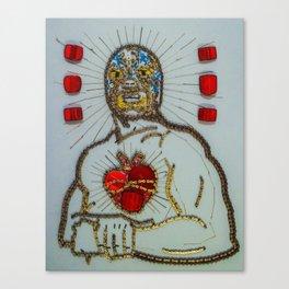 029: Lucha Libre - 100 Hoopties Canvas Print