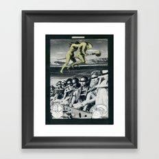 Witchery Mocks with Flight Framed Art Print
