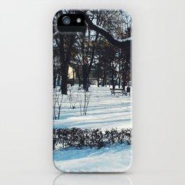 Snow by Giada Ciotola iPhone Case