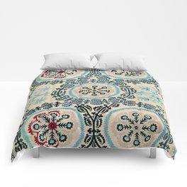 Ferghana Suzani  Antique North East Uzbekistan Embroidery Comforters