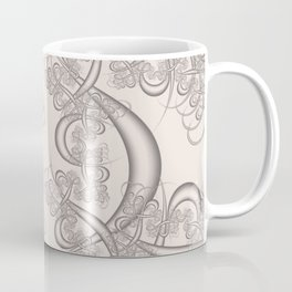 Bridal Blush Fractal Coffee Mug