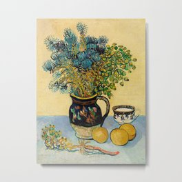 Vincent Van Gogh - Still Life Metal Print