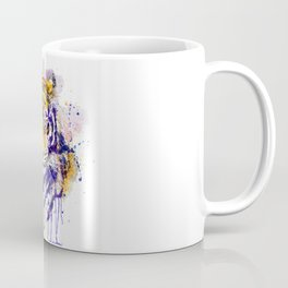 Tiger Head Portrait Coffee Mug