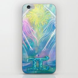 Gemini Angels iPhone Skin