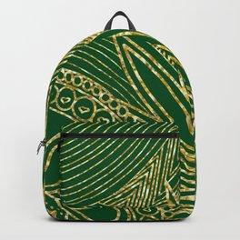 Glitter Doodle Art Backpack