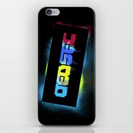 Dedsec Graf Stencil iPhone Skin