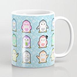 Rainbow Penguins Coffee Mug